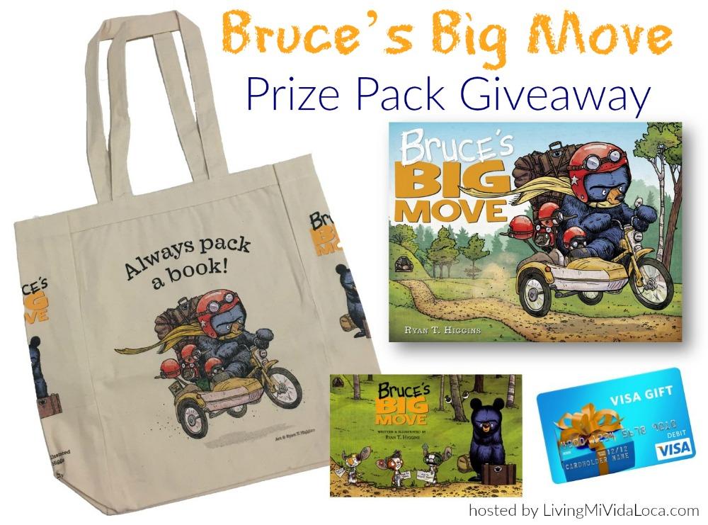 Bruce's Big Move book review - LivingMiVidaLoca.com