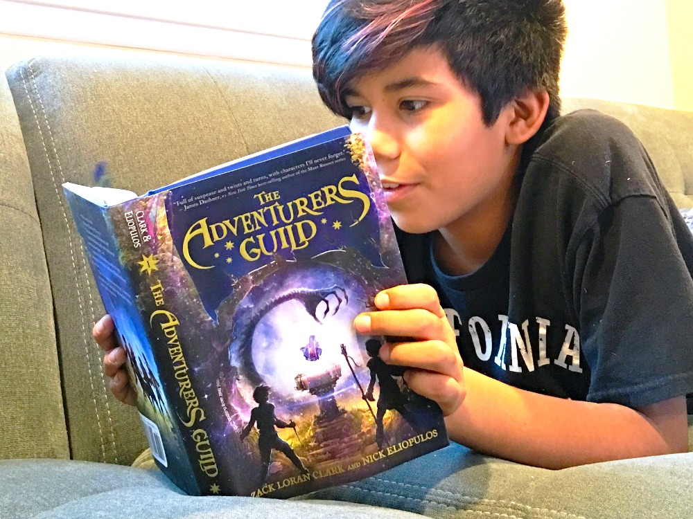 The Adventurers Guild book for young kids - livingmividaloca.com