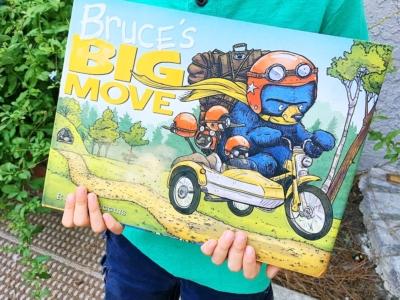 Bruce's Big Move by Ryan T. Higgins - LivingMiVidaLoca.com