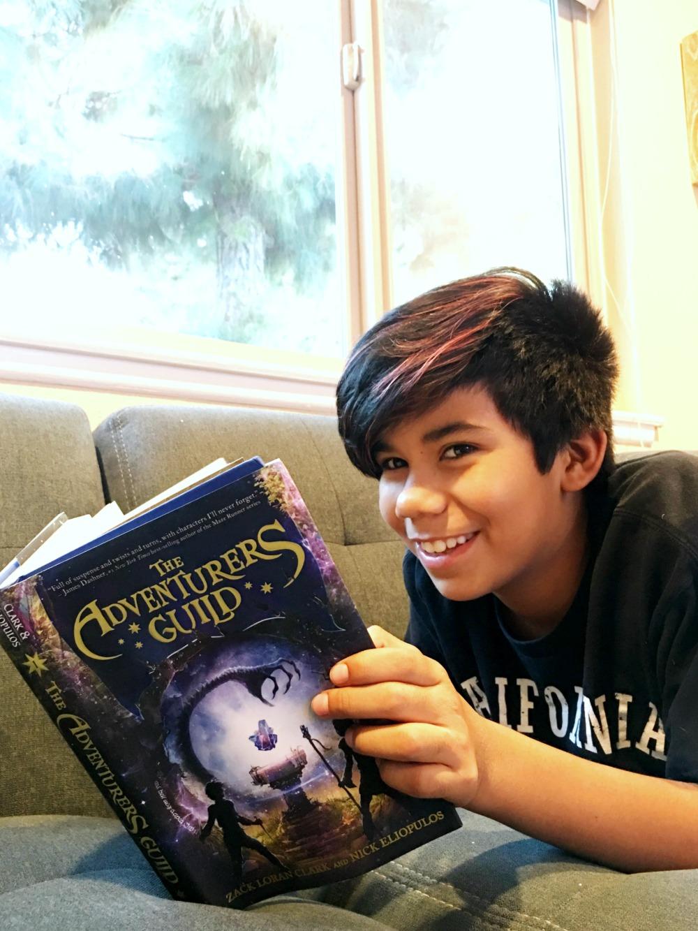 The Adventurers Guild book for young kids - livingmividaloca.com | photo by Pattie Cordova