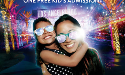 Free kid's admission to L.A. Zoo Lights - LivingMiVidaLoca.com