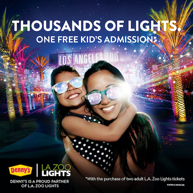 Free kid's admission to L.A. Zoo Lights - LivingMiVidaLoca.com