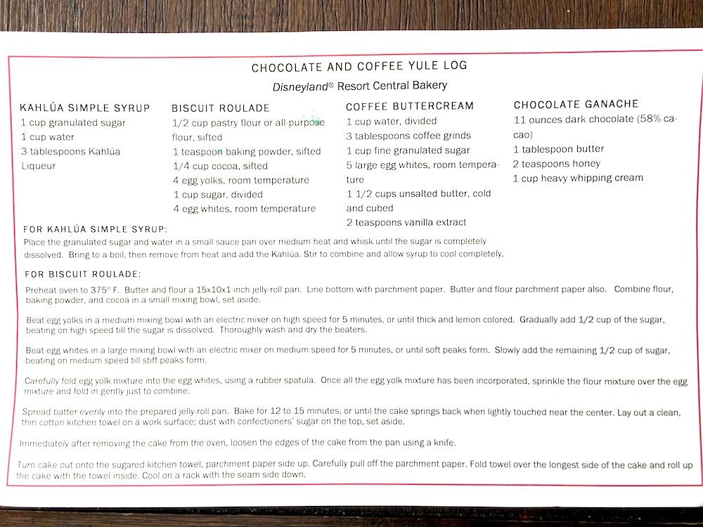 how to make chocolate and coffee Yule log - livingmividaloca.com