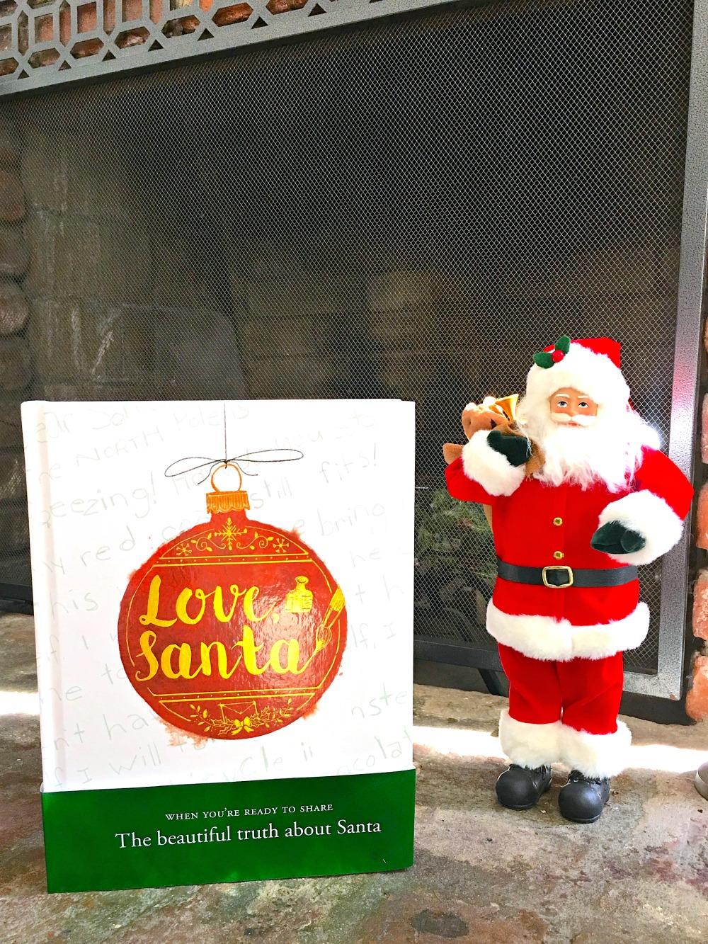 Love, Santa by Martha Brockenbrough - LivingMiVidaLoca.com