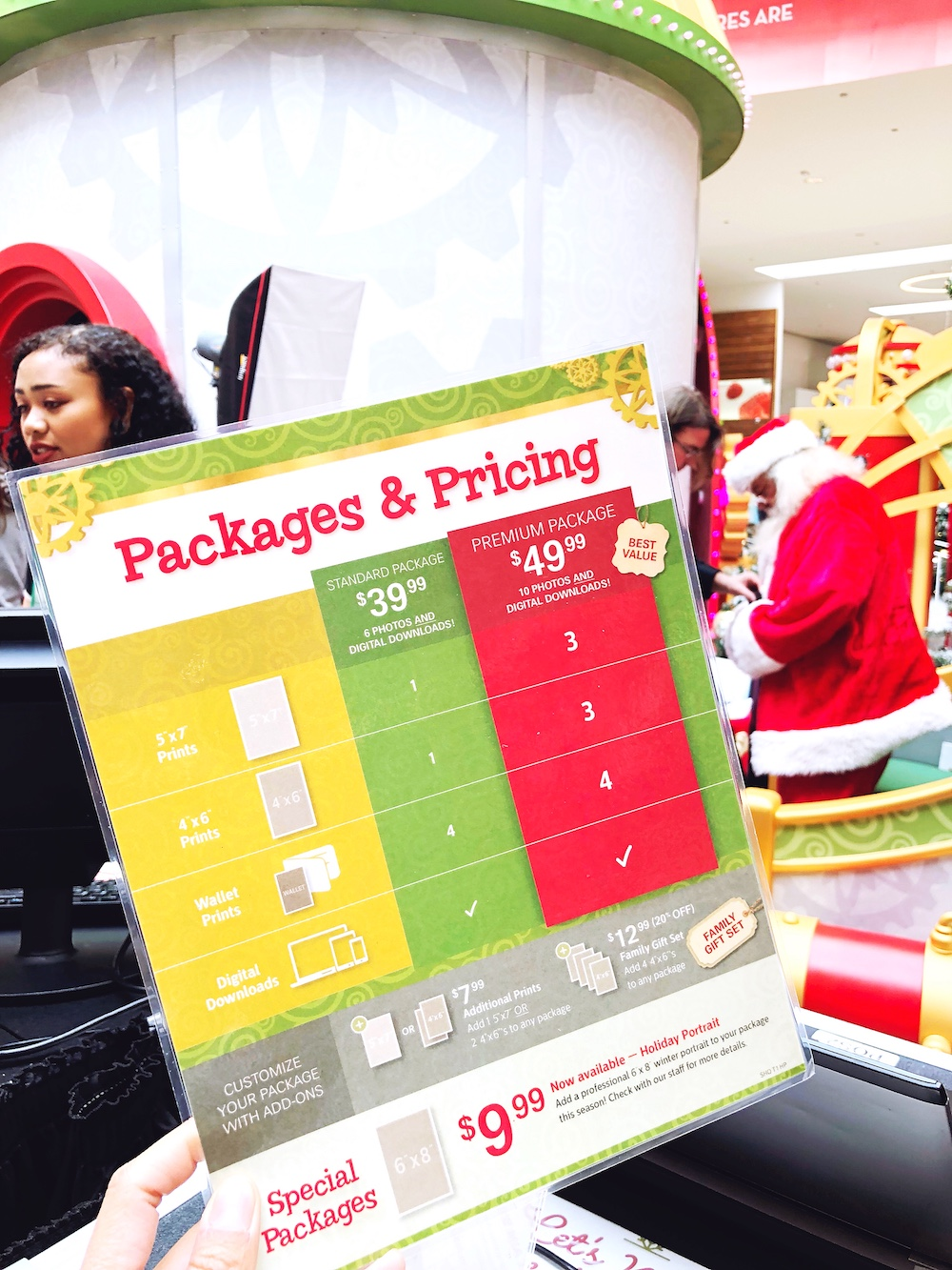 Prices for Santa HQ at Los Cerritos Center - LivingMiVidaLoca.com