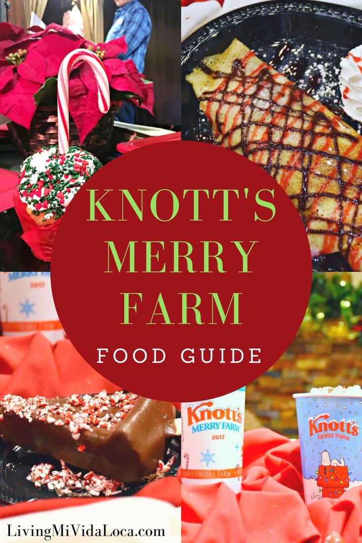 Knott's Merry Farm Food Guide - LivingMiVidaLoca.com