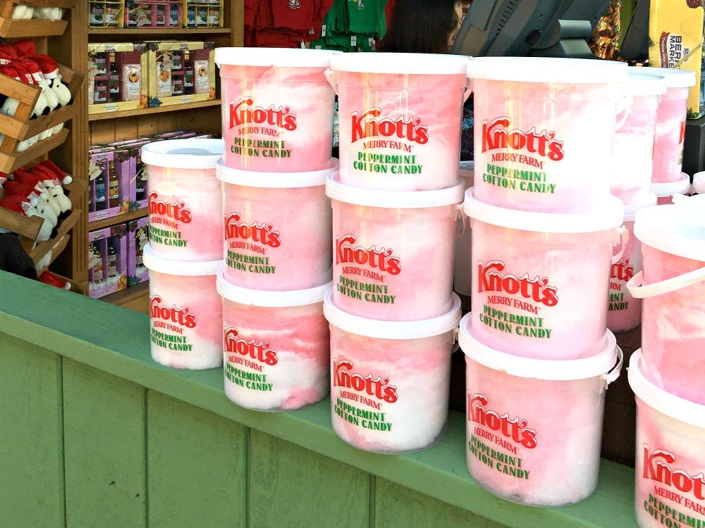 Knott's peppermint cotton candy - livingmividaloca.com