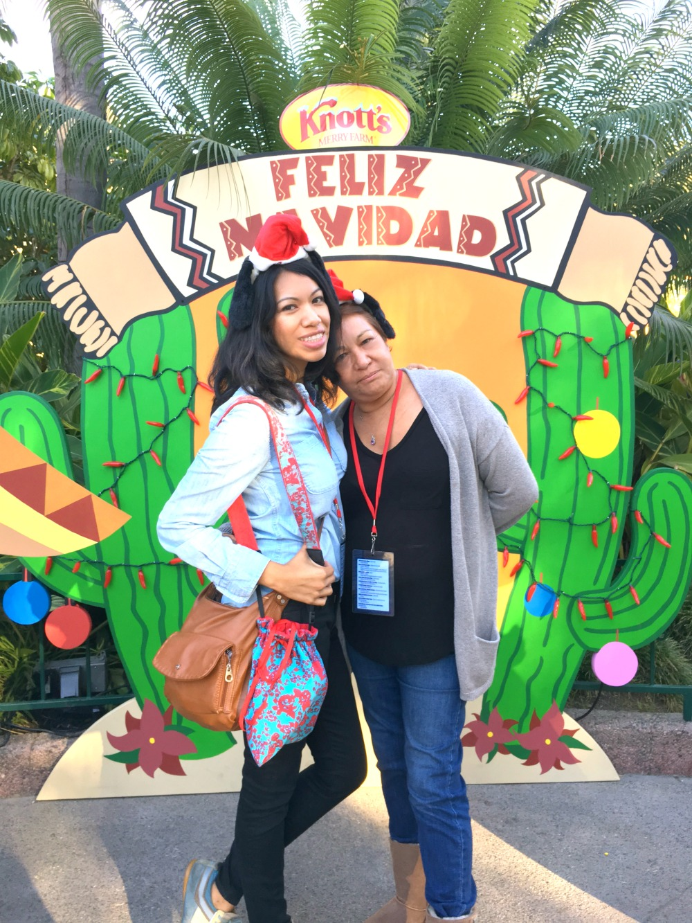 Pattie Cordova and mom - LivingMiVidaLoca.com