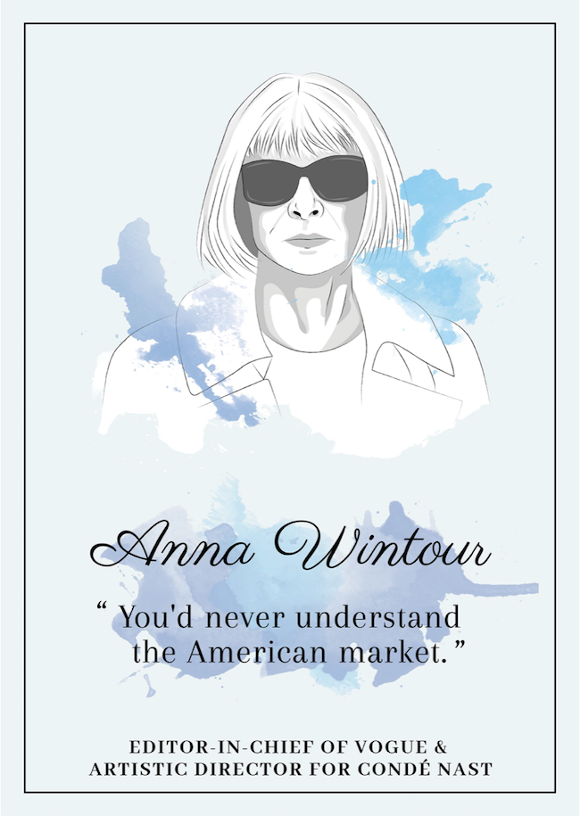 Quote from Anna Wintour that inspire perseverance - livingmividaloca.com