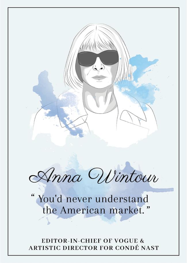 Quote from Anna Wintour that inspire perseverance - livingmividaloca.com