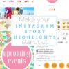 How to make your Instagram Story highlights standout - LivingMiVidaLoca.com