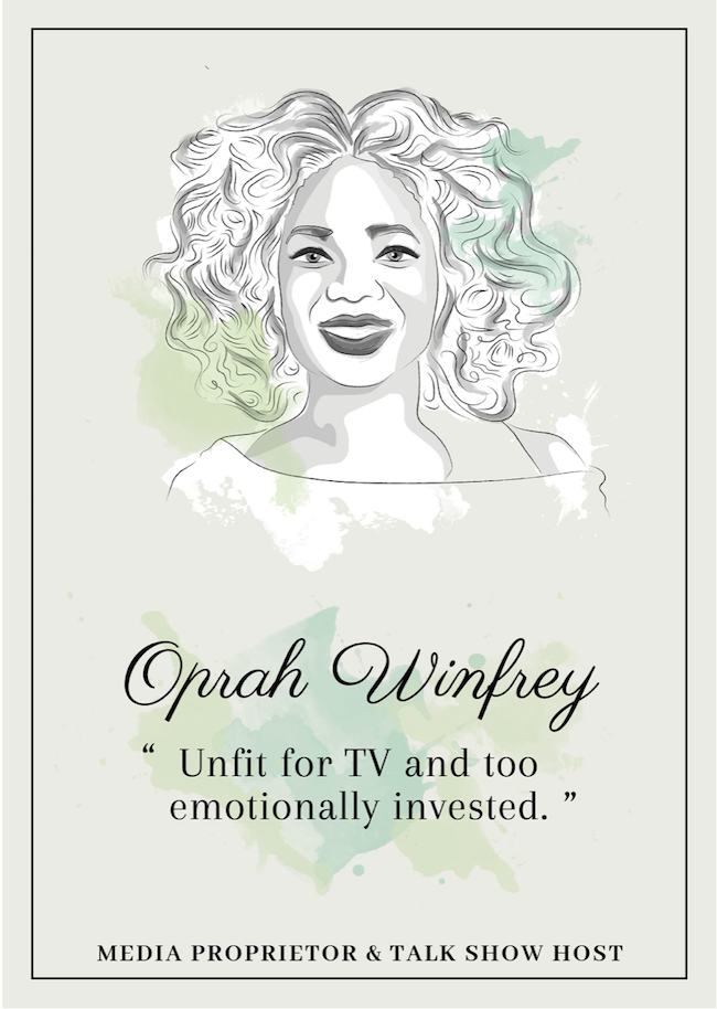 Quote from Oprah Winfrey that inspire perseverance - livingmividaloca.com