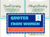 Quotes from women that inspire perseverance - livingmividaloca.com