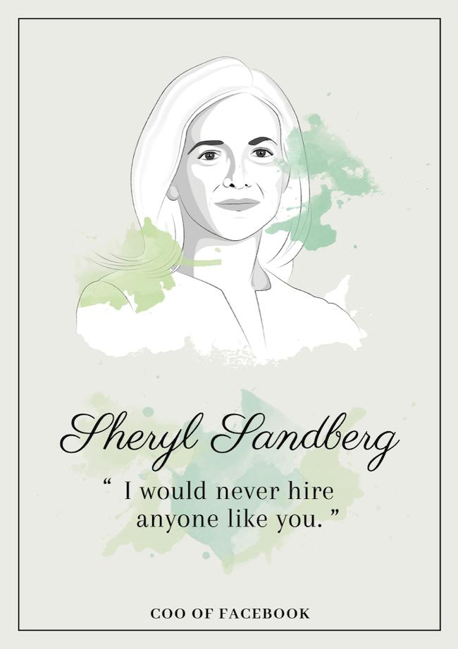 Quote from Sheryl Sandberg that inspire perseverance - livingmividaloca.com