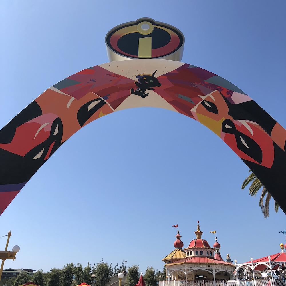 Incredicoaster at Pixar Pier - livingmividaloca.com - #pixarpier #disneyland #disneycaliforniaadventure