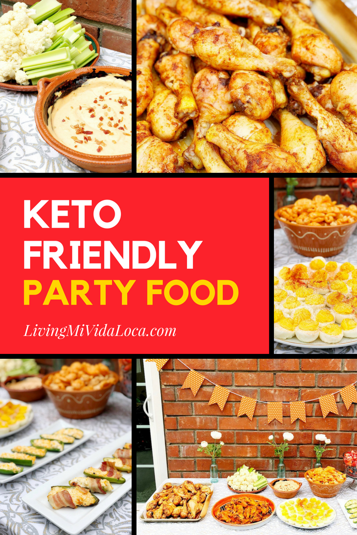 Family-friendly keto party food ideas - livingmividaloca.com