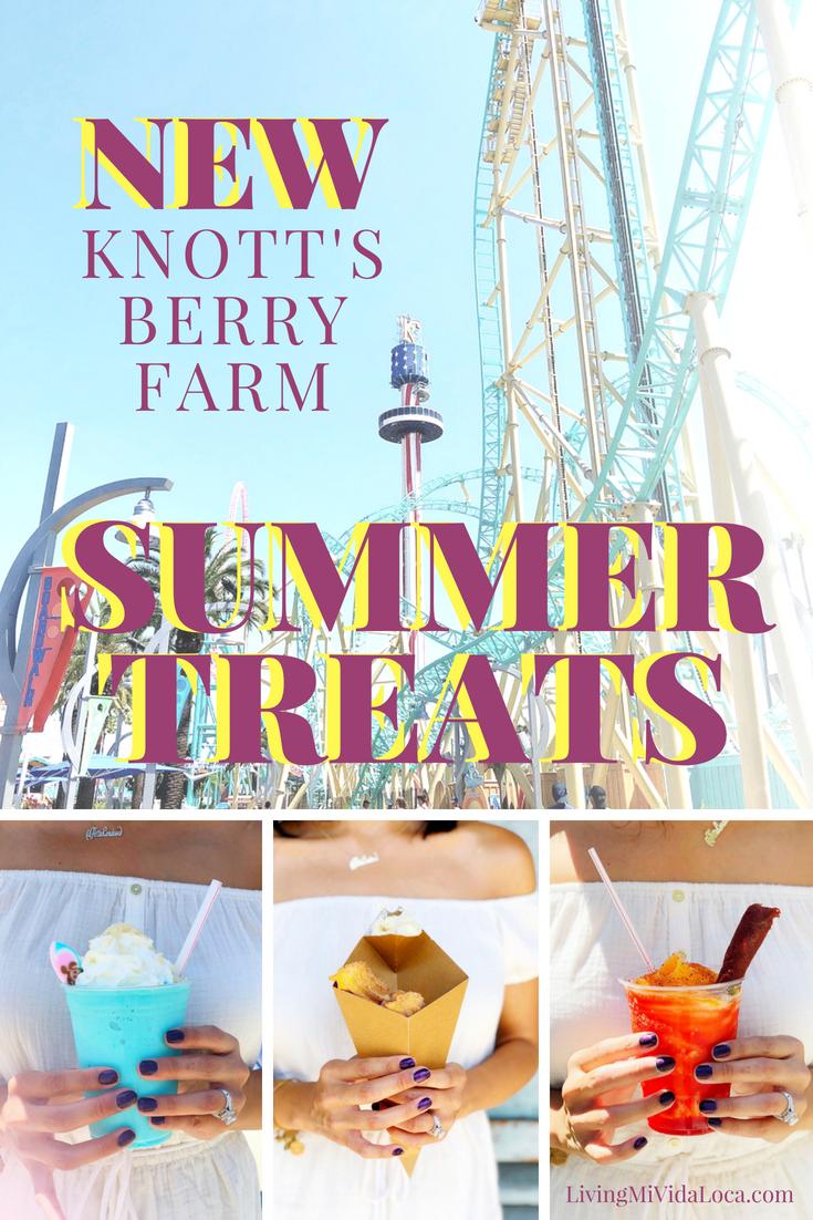 New Knott's Berry Farm summer treats - livingmividaloca.com