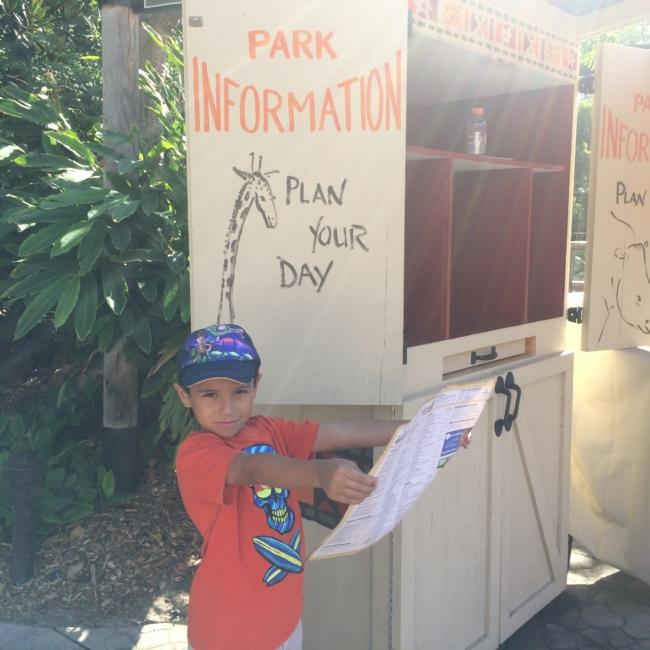 San Diego zoo free kids in october