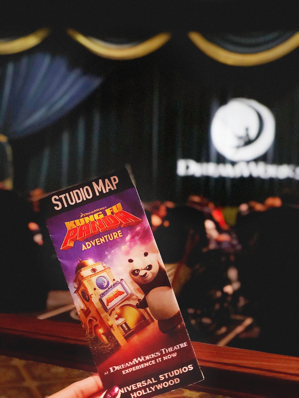 map of universal studios Hollywood at dreamwork theatre - livingmividaloca.com