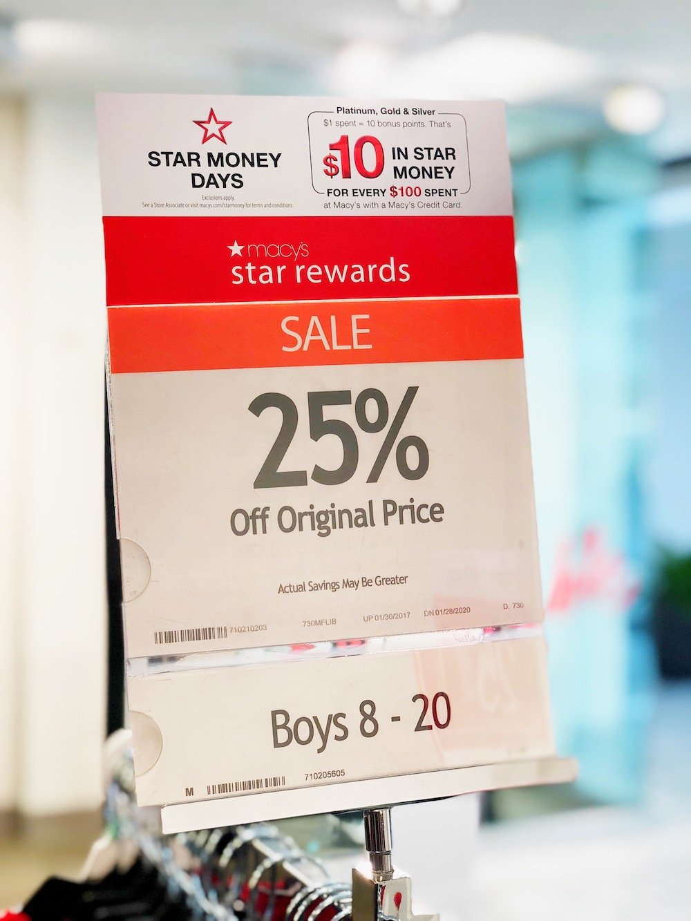 Macy's star rewards saves you even more at Macy's at MainPlace Mall in Santa Ana | livingmividaloca.com | #livingmividaloca #shopmainplace #santaana #mainplacemall #macys #kidstyle #sportystyle