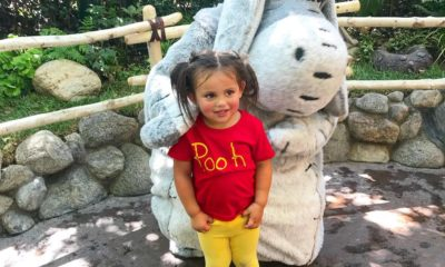 Make an easy five minute Winnie the Pooh costumer Halloween or Disney bounding | livingmividaloca.com | #livingmividaloca #winniethepooh #cosplay #DisneyBoundChallenge