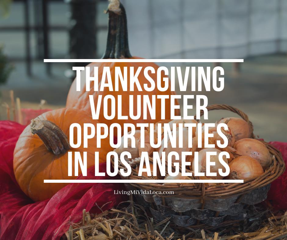 Thanksgiving volunteer opportunities in Los Angeles   LivingMiVidaLoca.com   #ThanksgivingVolunteer #Volunteering #GivingBack #LivingMiVidaLoca #LosAngelesVolunteers