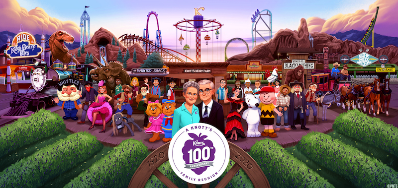 Knott's Berry Farm Celebrates Its 100th Anniversary With Grand Summer-Long Celebration