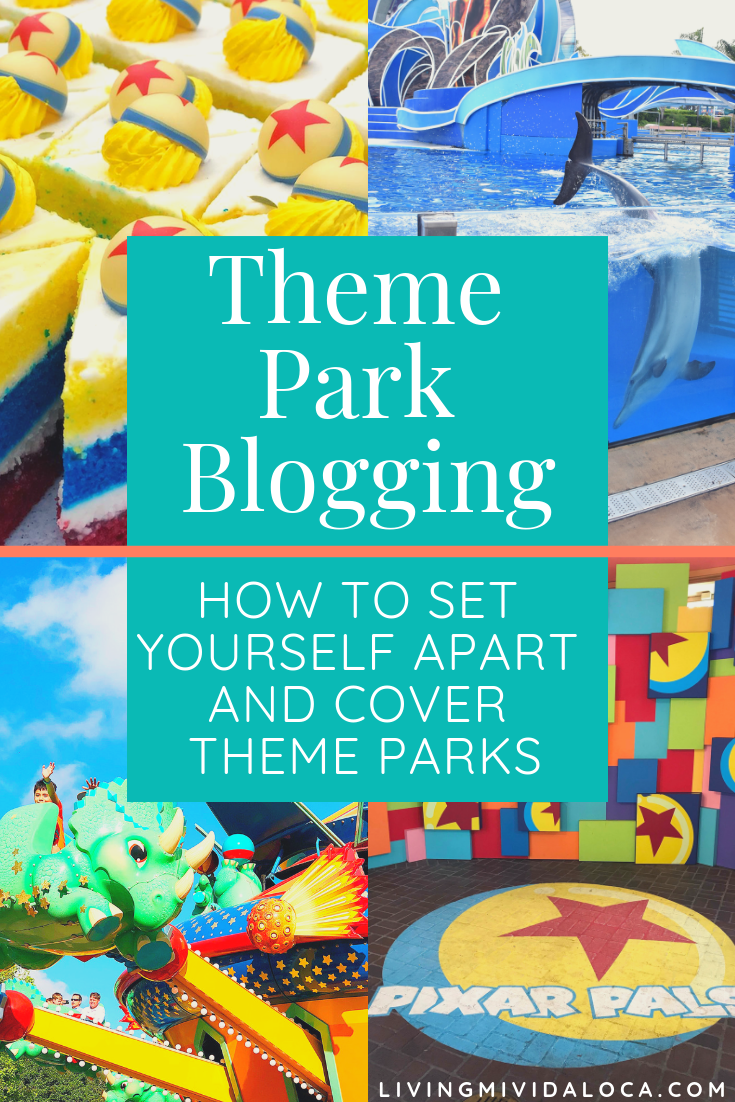 This theme park blogger presentation is for bloggers who cover theme parks and want to set themselves apart from other theme park blogger. | LivingMiVidaLoca.com | #LivingMiVidaLoca #ThemeParkBlogigng #BloggingTips