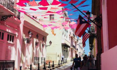 Puerto Rico cobblestone street - livingmividaloca.com - #livingmividaloca #celebritycruises #puertorico