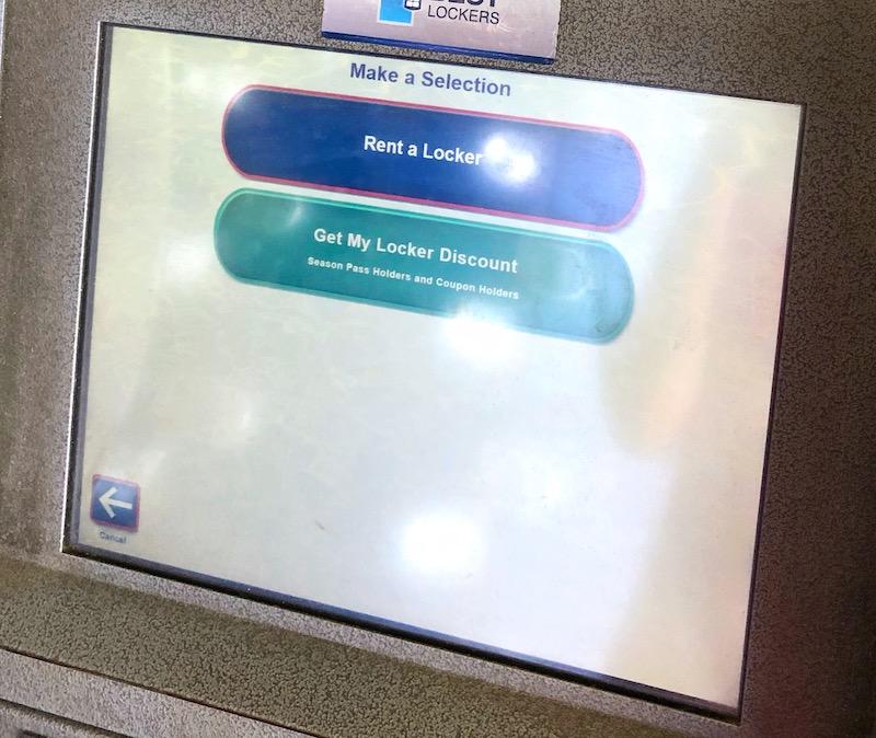 Locker prices at Davy Jones Lockers at Knott's Soak City in Buena Park, CA - livingmividaloca.com - #LivingMiVidaLoca #KnottsSoakCity #KnottsBerryFarm #BuenaPark