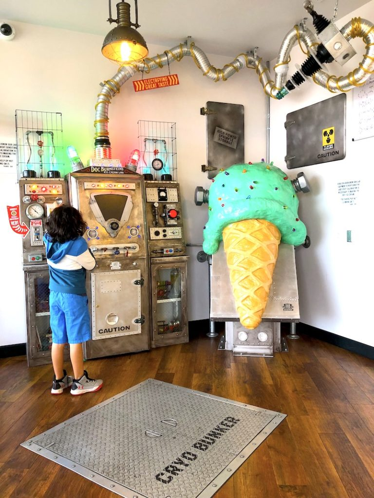 Doc Burnestein Ice Cream Lab is a great Santa Maria Valley road trip stop. Check out this itinerary for a road trip along the California central coast. - livingmividaloca.com - #LivingMiVidaLoca #Gnomads #SantaMaria Valley