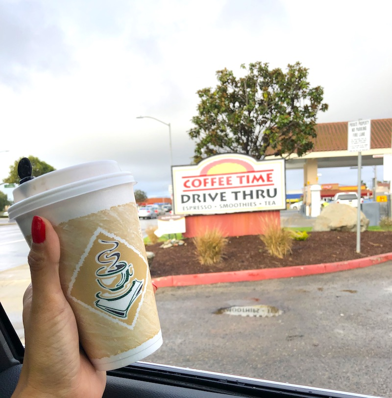 Coffee Time Drive Thru is a great Santa Maria Valley road trip stop. Check out this itinerary for a road trip along the California central coast. - livingmividaloca.com - #LivingMiVidaLoca #Gnomads #SantaMaria Valley