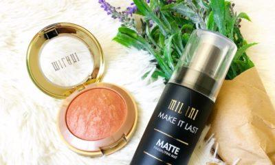 Milani Baked Blush & Make It Last Charcoal Matte Setting Spray - livingmividaloca.com | #MilaniatWalgreens #MilaniCosmetics