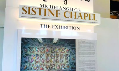 Visiting Michelangelo's Sistine Chapel - The Exhibition