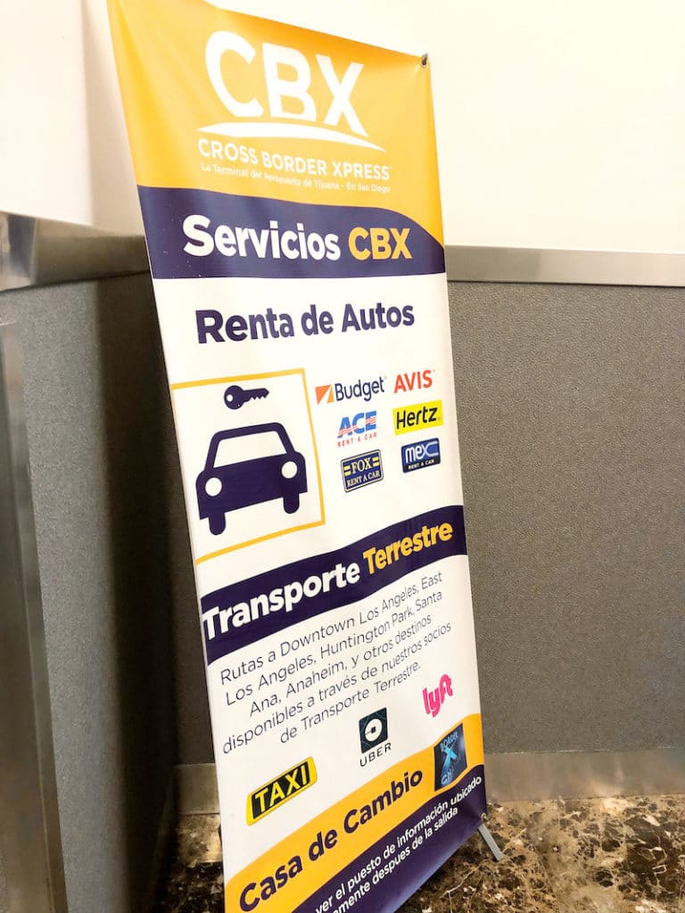 Traveling with CBX from San Diego to Tijuana airport - livingmividaloca.com - #LivingMiVidaLoca #travel #SanDiego #Tijuana #CBX