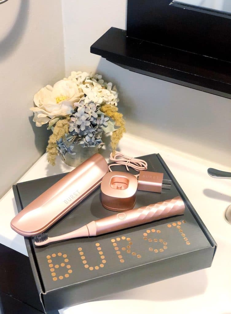 BURST Sonic Toothbrush in rose gold is more than just a pretty toothbrush | LivingMiVidaLoca.com