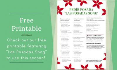 Las Posadas song printable imprimible - livingmividaloca.com - #LMVLSoCal #lasposadas #LatinHoliday