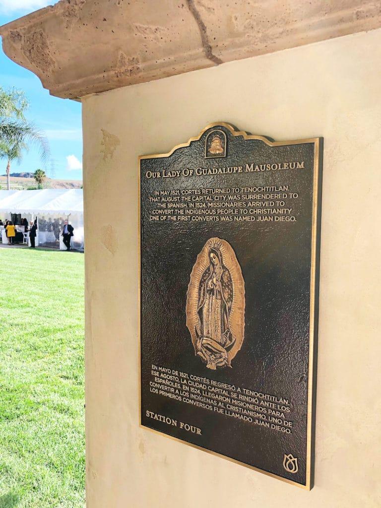 New Our Lady of Guadalupe Mausoleum at Rose Hills - livingmividaloca.com