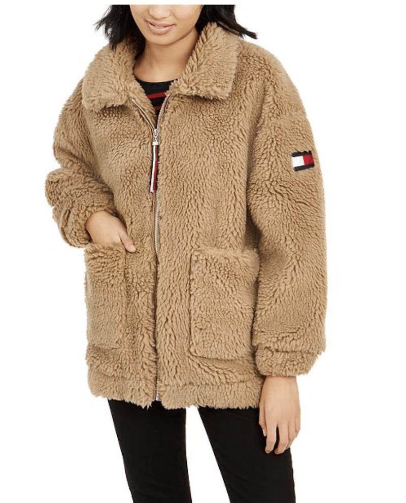 teddy bear jacket winter coat - livingmividaloca.com