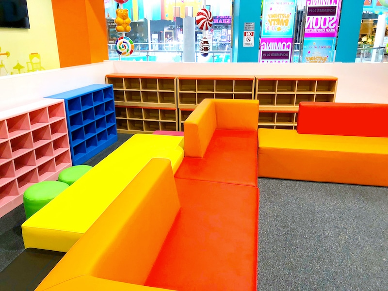 Under four area at Candeeland Kids at MainPlace Mall - livingmividaloca.com - #LivingMiVidaLoca #MainPlaceMall #SantaAna
