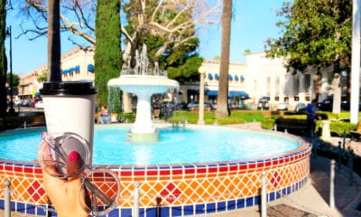 coffee and old town orange fountain