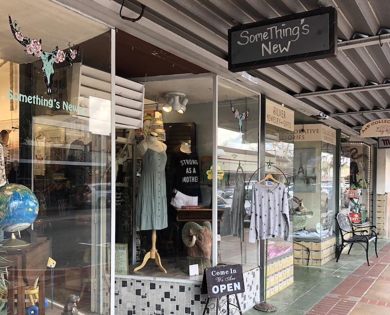 Something's New OC Boutique in Old Town Orange, California