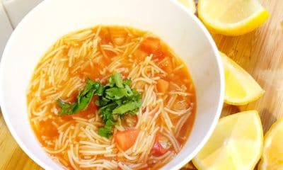 authentic Mexican Sopa de fideo recipe - livingmividaloca.com