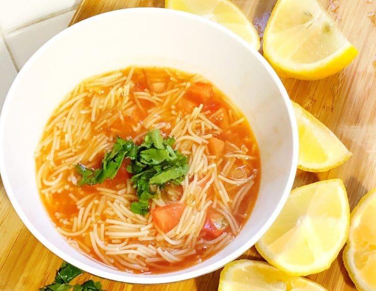 authentic Mexican Sopa de fideo recipe - livingmividaloca.com