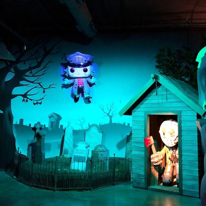 Fright House at Funko Hollywood Store - livingmividaloca.com