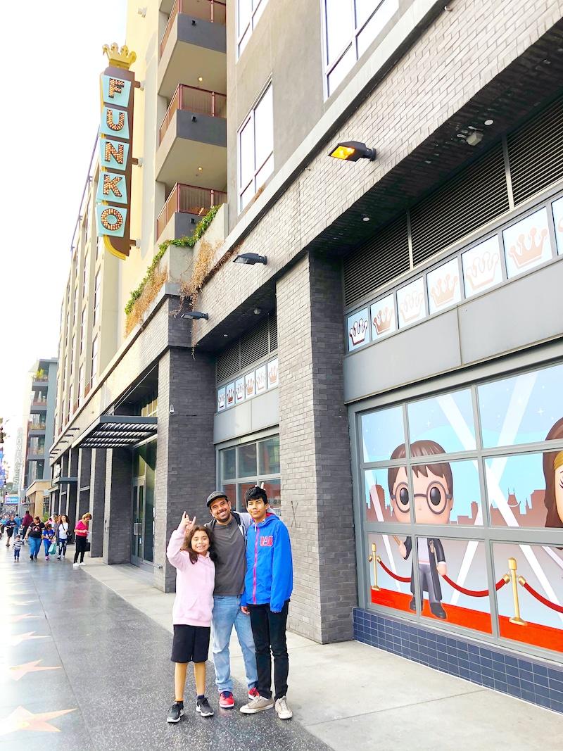 Visiting the Funko Hollywood store - livingmividaloca.com