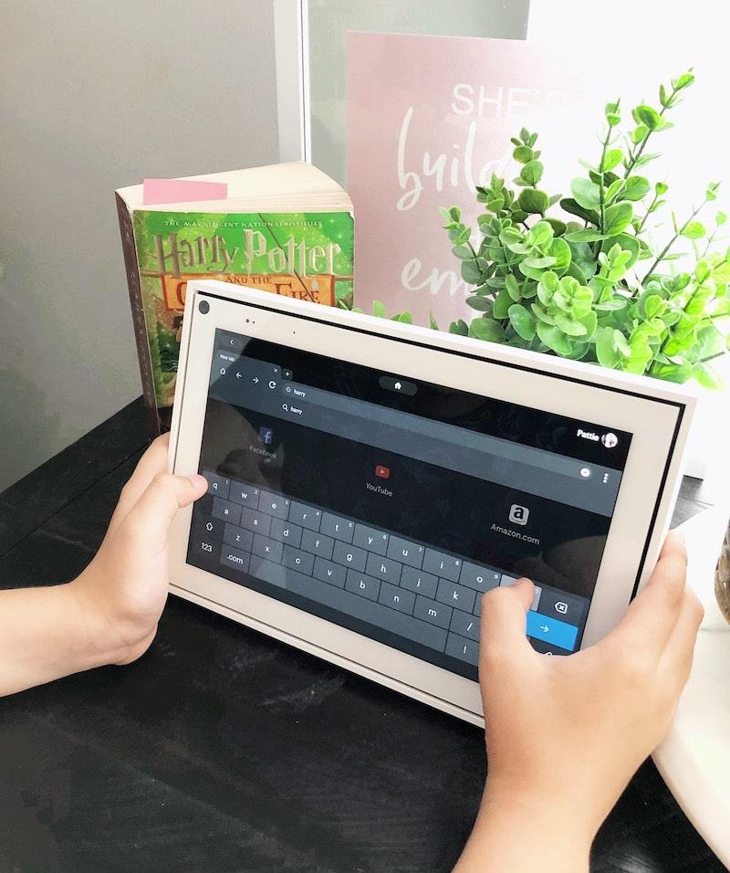 How to search online with Facebook Portal - livingmividaloca.com