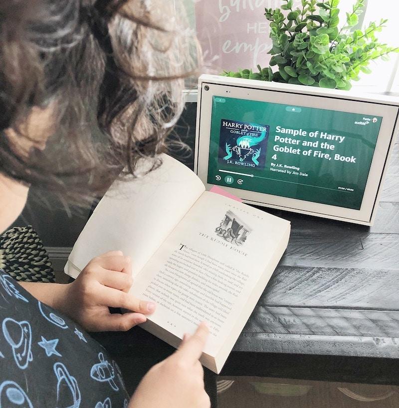 Reading aloud with Facebook Portal - livingmividaloca.com