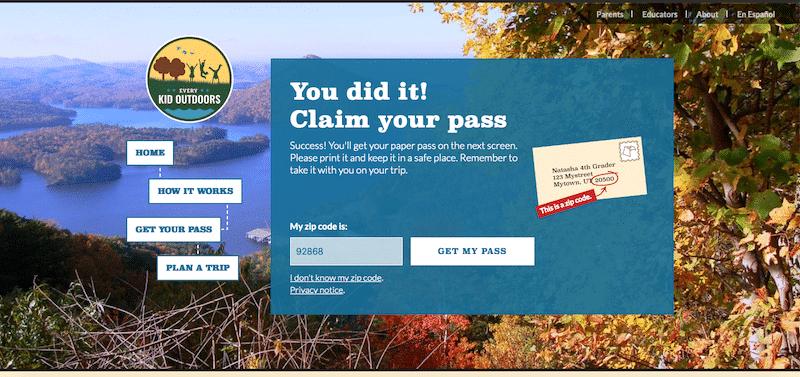how to apply and get the 4th grade free national park pass - livingmividaloca.com