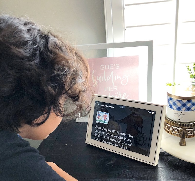 Distance learning with Facebook Portal at home - livingmividaloca.com